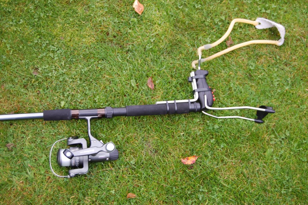 Catapult Fishing Rod Gun
