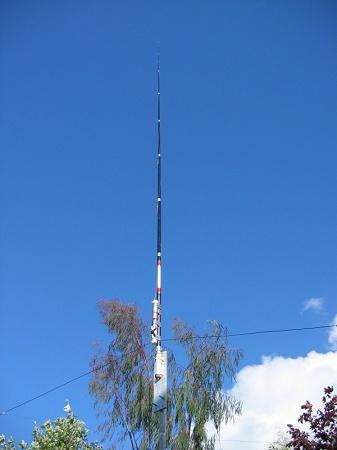 80 meter loaded vertical