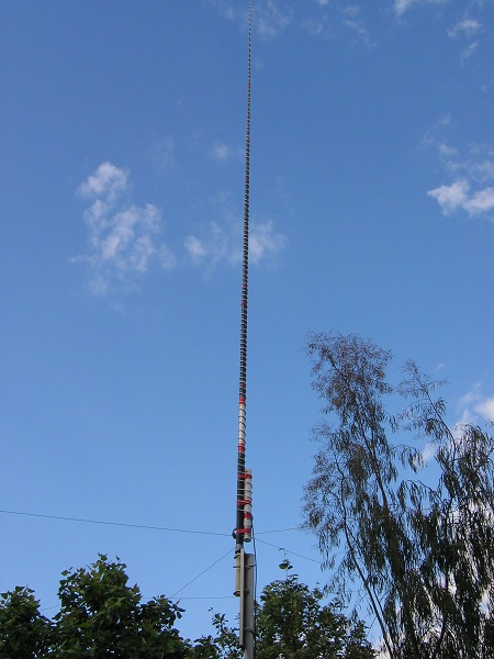 Helically Wound 40m vertical