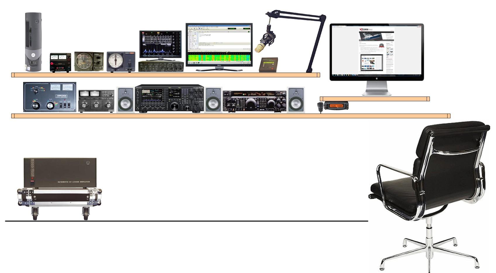 Designing A Radio Ham Shack M0mcx The Home Of Dx