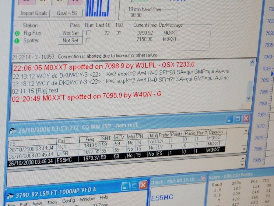 W3LPL spotted M0XXT