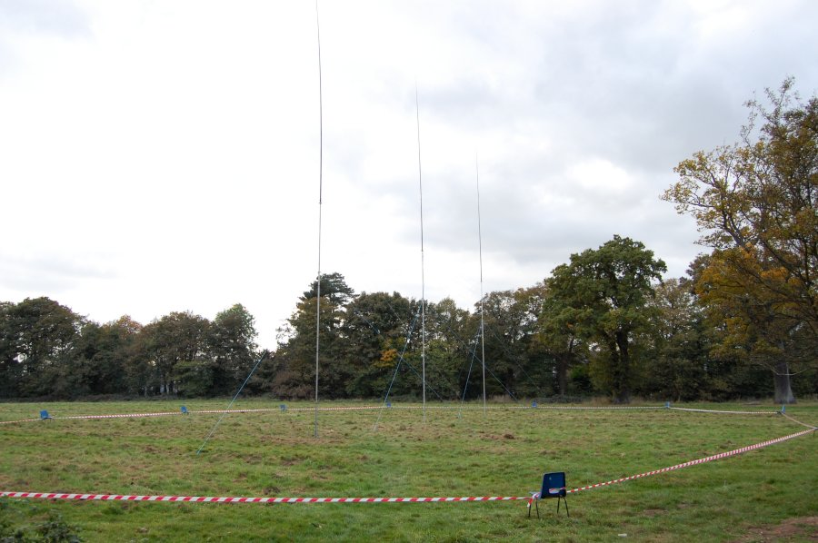 Vertical Array 40 meters