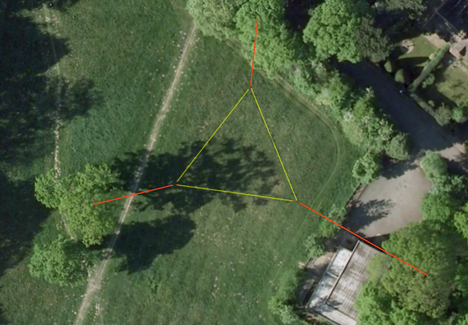 Firing Guy Wires Over 100 Foot Trees Dx Commander