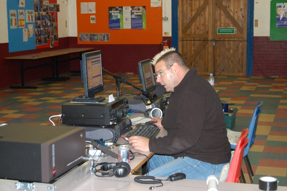 Random January DX night testing vertical on 40m
